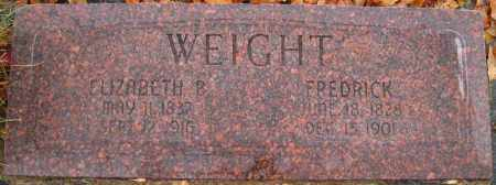 WEIGHT, FREDRICK - Utah County, Utah | FREDRICK WEIGHT - Utah Gravestone Photos