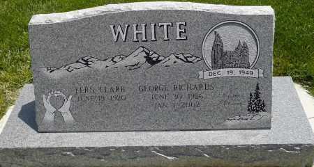 CLARK WHITE, FERN - Utah County, Utah | FERN CLARK WHITE - Utah Gravestone Photos