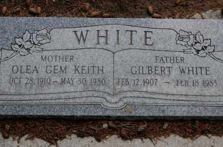 WHITE, GILBERT - Utah County, Utah | GILBERT WHITE - Utah Gravestone Photos