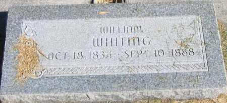 WHITING, WILLIAM - Utah County, Utah   WILLIAM WHITING - Utah Gravestone Photos