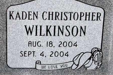 WILKINSON, KADEN CHRISTOPHER - Utah County, Utah | KADEN CHRISTOPHER WILKINSON - Utah Gravestone Photos