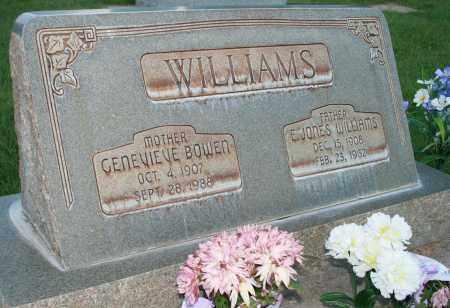 BOWEN WILLIAMS, GENEVIEVE - Utah County, Utah | GENEVIEVE BOWEN WILLIAMS - Utah Gravestone Photos