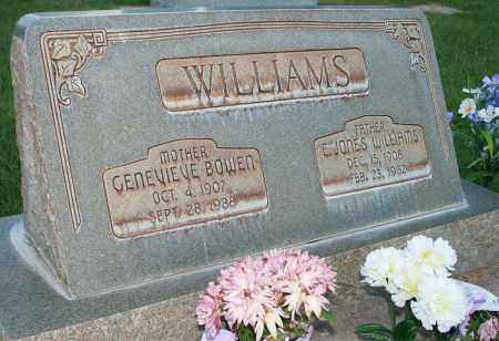 WILLIAMS, GENEVIEVE - Utah County, Utah | GENEVIEVE WILLIAMS - Utah Gravestone Photos