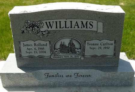 WILLIAMS, JAMES ROLLAND - Utah County, Utah | JAMES ROLLAND WILLIAMS - Utah Gravestone Photos