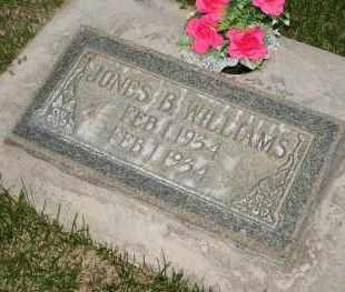 WILLIAMS, JONES BOWEN - Utah County, Utah | JONES BOWEN WILLIAMS - Utah Gravestone Photos
