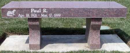 WILLIAMS, PAUL RAYMOND - Utah County, Utah | PAUL RAYMOND WILLIAMS - Utah Gravestone Photos