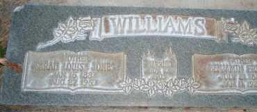 WILLIAMS, SARAH LOUISE - Utah County, Utah | SARAH LOUISE WILLIAMS - Utah Gravestone Photos