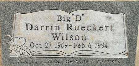 WILSON, DARRIN RUECKERT - Utah County, Utah | DARRIN RUECKERT WILSON - Utah Gravestone Photos