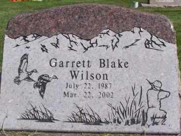 WILSON, GARRETT BLAKE - Utah County, Utah | GARRETT BLAKE WILSON - Utah Gravestone Photos