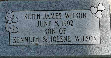 WILSON, KEITH JAMES - Utah County, Utah | KEITH JAMES WILSON - Utah Gravestone Photos