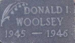 WOOLSEY, DONALD I. - Utah County, Utah   DONALD I. WOOLSEY - Utah Gravestone Photos