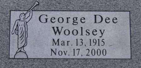 WOOLSEY, GEORGE DEE - Utah County, Utah   GEORGE DEE WOOLSEY - Utah Gravestone Photos