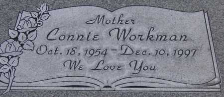 WORKMAN, CONNIE - Utah County, Utah | CONNIE WORKMAN - Utah Gravestone Photos