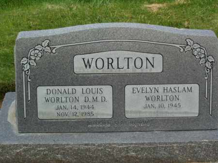 WORLTON, DONALD LOUIS - Utah County, Utah | DONALD LOUIS WORLTON - Utah Gravestone Photos