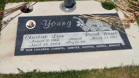 YOUNG, RUSSEL WAYNE - Utah County, Utah | RUSSEL WAYNE YOUNG - Utah Gravestone Photos