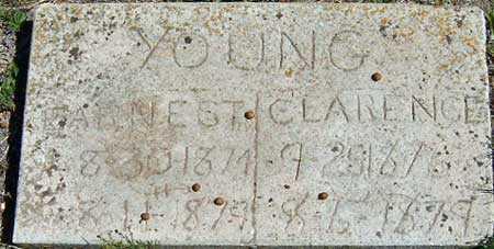 YOUNG, CLARENCE CENTENIAL - Utah County, Utah | CLARENCE CENTENIAL YOUNG - Utah Gravestone Photos