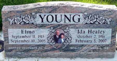 YOUNG, ELMO - Utah County, Utah | ELMO YOUNG - Utah Gravestone Photos