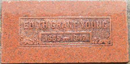 YOUNG, EDITH - Utah County, Utah | EDITH YOUNG - Utah Gravestone Photos
