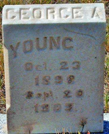 YOUNG, GEORGE ALVIN - Utah County, Utah | GEORGE ALVIN YOUNG - Utah Gravestone Photos