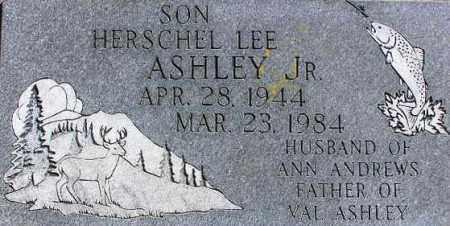 ASHLEY, HERSCHEL LEE - Wasatch County, Utah | HERSCHEL LEE ASHLEY - Utah Gravestone Photos