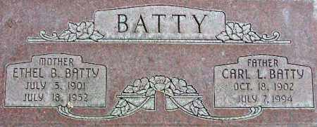 BATTY, ETHEL - Wasatch County, Utah | ETHEL BATTY - Utah Gravestone Photos