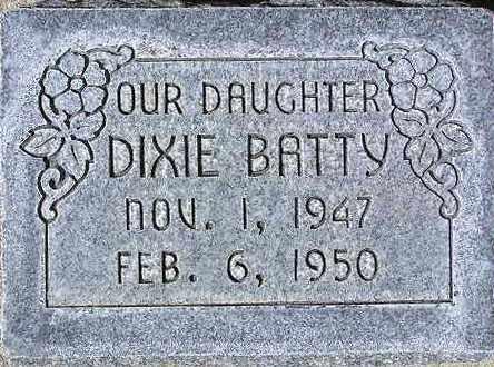 BATTY, DIXIE - Wasatch County, Utah | DIXIE BATTY - Utah Gravestone Photos