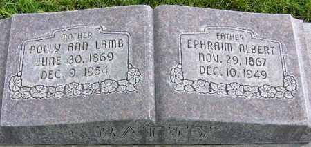 BATTY, EPHRAIM ALBERT - Wasatch County, Utah | EPHRAIM ALBERT BATTY - Utah Gravestone Photos