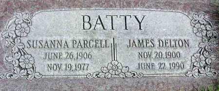 PARCELL BATTY, SUSANNA - Wasatch County, Utah | SUSANNA PARCELL BATTY - Utah Gravestone Photos