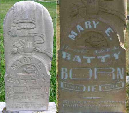 BATTY, MARY ELIZABETH - Wasatch County, Utah | MARY ELIZABETH BATTY - Utah Gravestone Photos