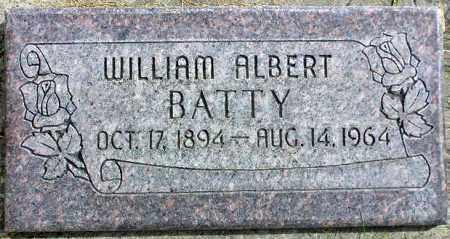 BATTY, WILLIAM ALBERT - Wasatch County, Utah   WILLIAM ALBERT BATTY - Utah Gravestone Photos