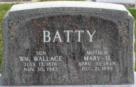 BATTY, MARY HENRIETTA - Wasatch County, Utah | MARY HENRIETTA BATTY - Utah Gravestone Photos