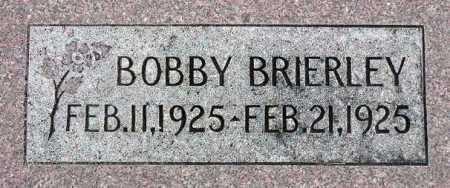 BRIERLEY, BOBBY - Wasatch County, Utah | BOBBY BRIERLEY - Utah Gravestone Photos