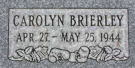 BRIERLEY, CAROLYN - Wasatch County, Utah | CAROLYN BRIERLEY - Utah Gravestone Photos