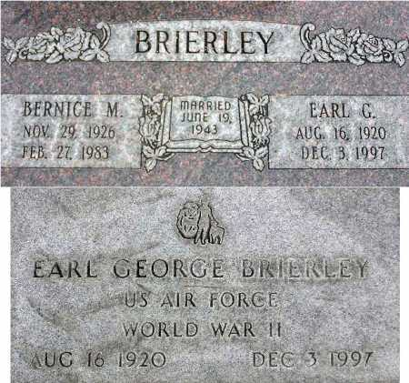 BRIERLEY, BERNICE - Wasatch County, Utah | BERNICE BRIERLEY - Utah Gravestone Photos