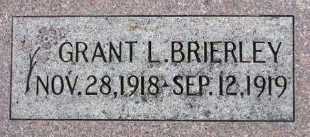 BRIERLEY, GRANT LEROY - Wasatch County, Utah | GRANT LEROY BRIERLEY - Utah Gravestone Photos