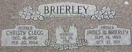 BRIERLEY, JAMES WADKIN - Wasatch County, Utah | JAMES WADKIN BRIERLEY - Utah Gravestone Photos