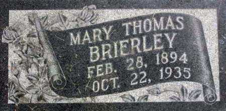 BRIERLEY, MARY EMMELINE - Wasatch County, Utah | MARY EMMELINE BRIERLEY - Utah Gravestone Photos