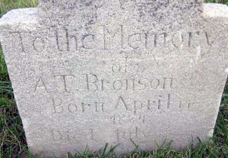 BRONSON, ALVIN TRACY - Wasatch County, Utah | ALVIN TRACY BRONSON - Utah Gravestone Photos