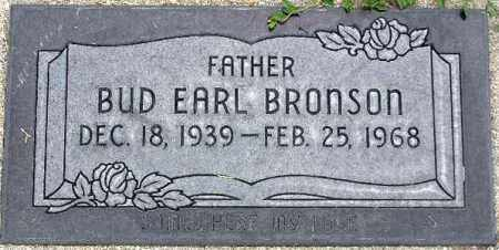 BRONSON, BUDDY EARL - Wasatch County, Utah | BUDDY EARL BRONSON - Utah Gravestone Photos