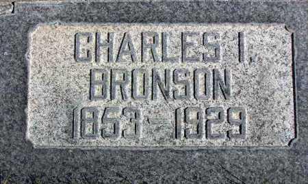 BRONSON, CHARLES ISAAC - Wasatch County, Utah   CHARLES ISAAC BRONSON - Utah Gravestone Photos