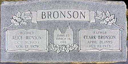 BRONSON, ALICE LUELLA - Wasatch County, Utah | ALICE LUELLA BRONSON - Utah Gravestone Photos