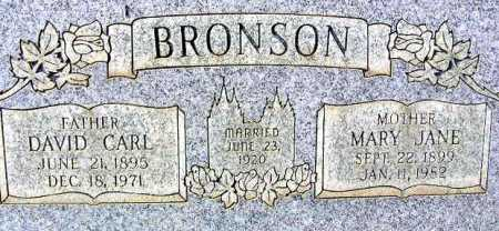 BRONSON, DAVID CARL - Wasatch County, Utah | DAVID CARL BRONSON - Utah Gravestone Photos