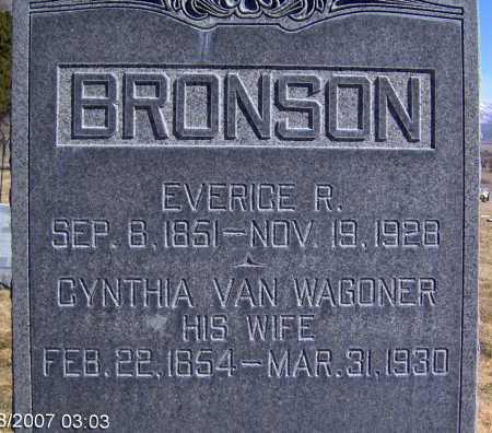 BRONSON, CYNTHIA - Wasatch County, Utah | CYNTHIA BRONSON - Utah Gravestone Photos