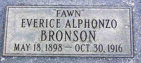 "BRONSON, EVERICE ALPHONZO ""FAWN"" - Wasatch County, Utah | EVERICE ALPHONZO ""FAWN"" BRONSON - Utah Gravestone Photos"