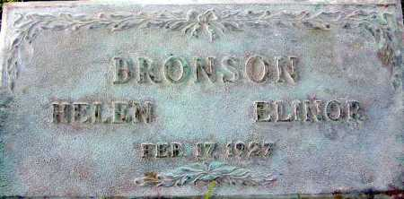 BRONSON, ELINOR - Wasatch County, Utah | ELINOR BRONSON - Utah Gravestone Photos