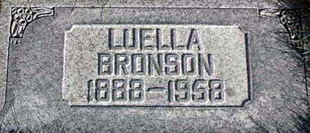 BRONSON, MARY LUELLA - Wasatch County, Utah | MARY LUELLA BRONSON - Utah Gravestone Photos