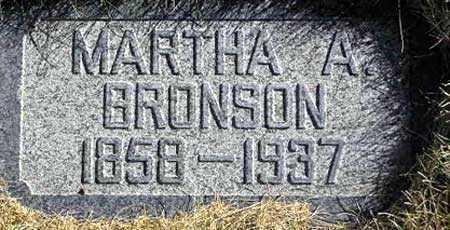BRONSON, MARTHA ANN - Wasatch County, Utah | MARTHA ANN BRONSON - Utah Gravestone Photos