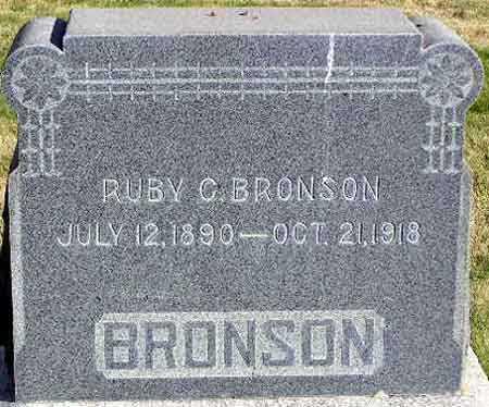 BRONSON, RUBY CARRIE - Wasatch County, Utah | RUBY CARRIE BRONSON - Utah Gravestone Photos