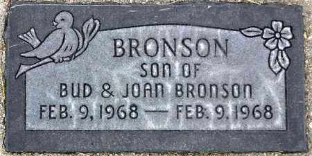 BRONSON, SON - Wasatch County, Utah | SON BRONSON - Utah Gravestone Photos