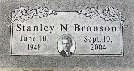 BRONSON, STANLEY N. - Wasatch County, Utah | STANLEY N. BRONSON - Utah Gravestone Photos